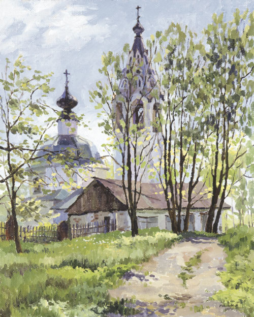 Наталия Новикова. Среди листвы