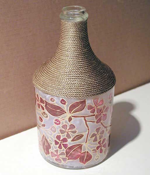 Бутылка своими руками фото