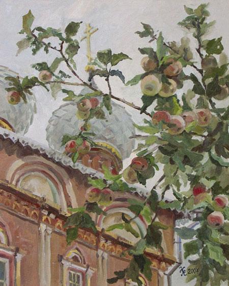 Новикова Наталия. Яблочный спас. 2007