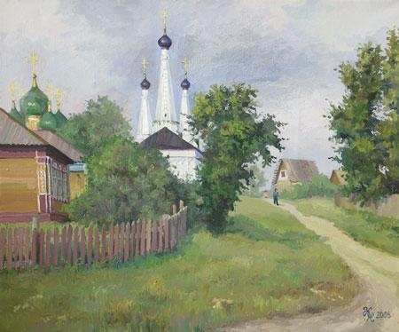 Наталия Новикова. Углич. 50х60 см, х.м., 2006 г. /можно купить/