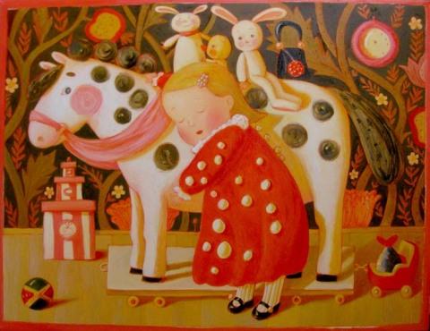 Анна Королева. Специальная песня для лошади