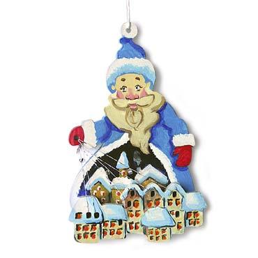 Дед Мороз - снеговей. 2009 г.