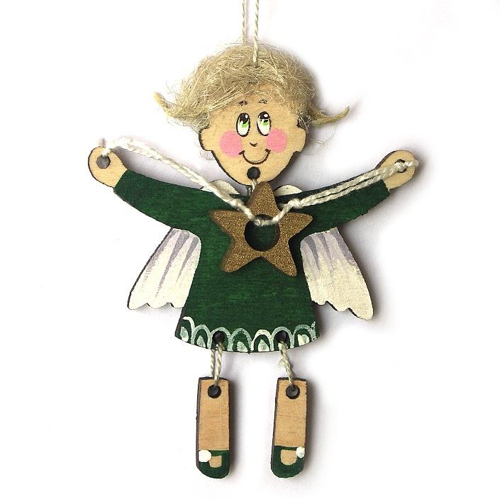 Ангелочек игрушка своими руками