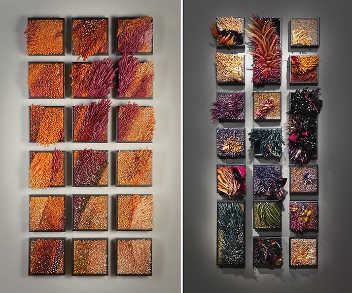 Картины из стекла фото