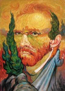 Олег Шупляк «Двойной портрет Ван Гога»