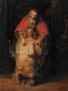 Олег Шупляк «Рембрандт Ван Рейн. Возвращение блудного сына»