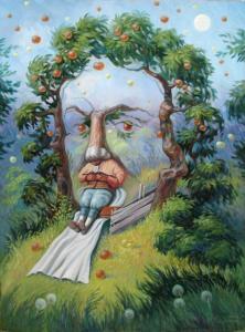 Олег Шупляк «Ньютон в Саду Идей»