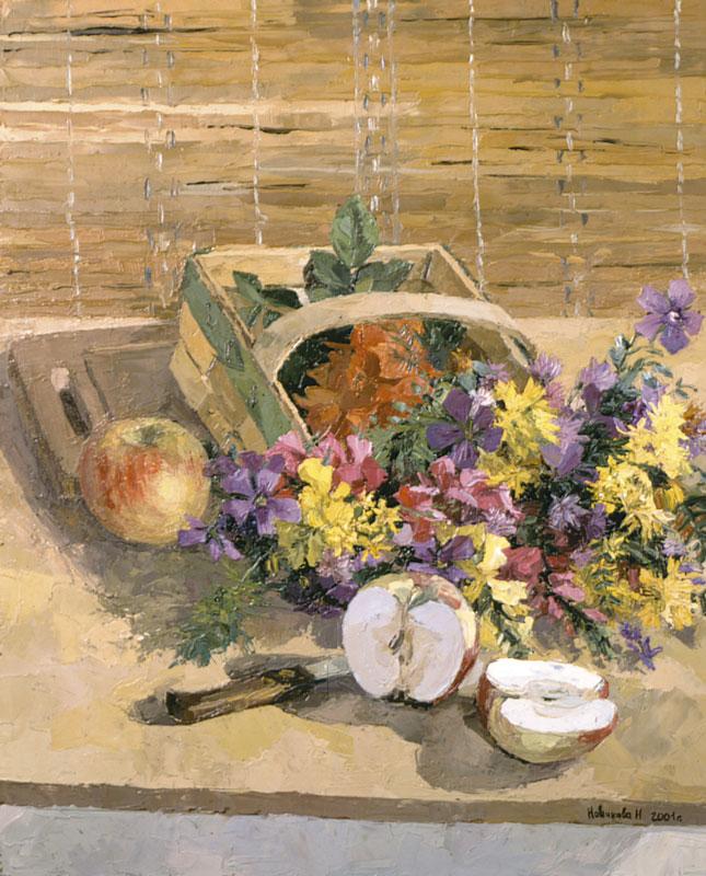 Flower-apple
