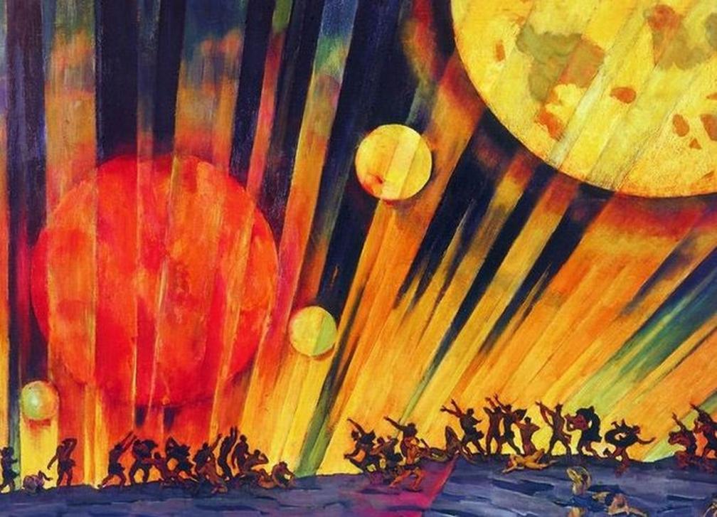 Константин Юон. Новая планета.