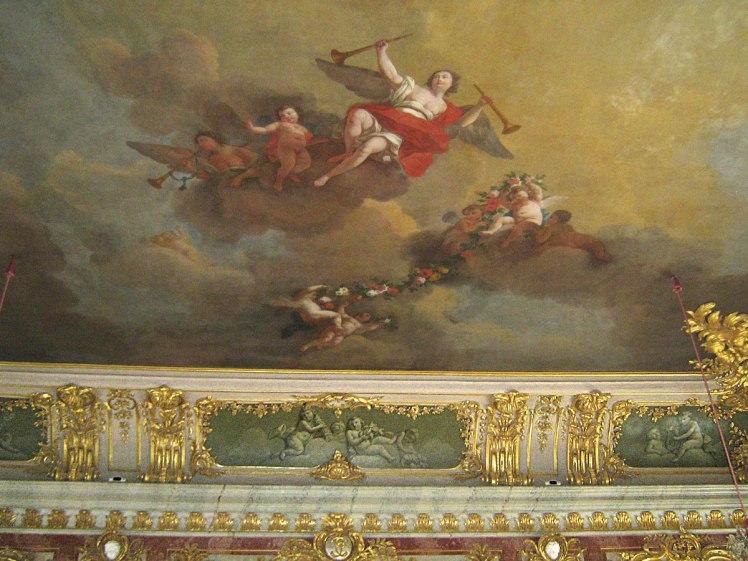 Фрагмент потолочной росписи Золотого тронного зала.