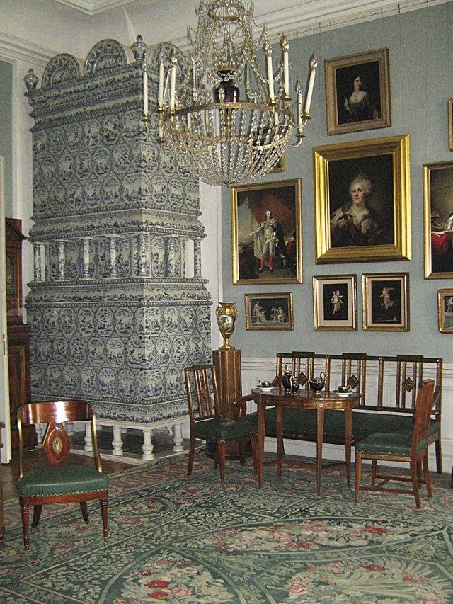 Центральная часть дворца. Апартаменты герцога.