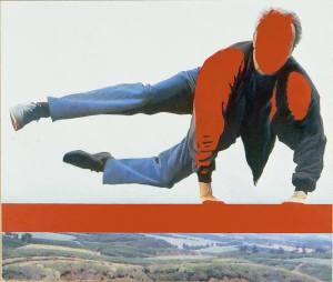 Эрик Булатов. Прыжок. 1994.