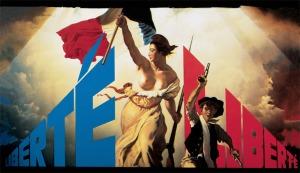 """Эрик Булатов """"Liberte"""" 1992 -эта картина появилась на афише выставки """"Контрапункт"""""""