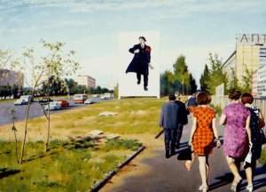 Эрик Булатов. Улица Красикова. 1977