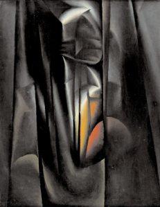 Эрик Булатов. Осенний пейзаж. 1963, 73х93.