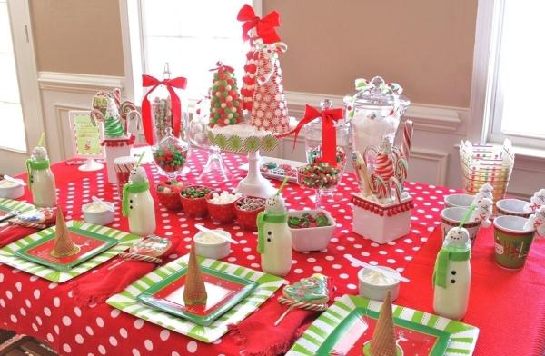 Украшения для стола на день рождения своими руками 30