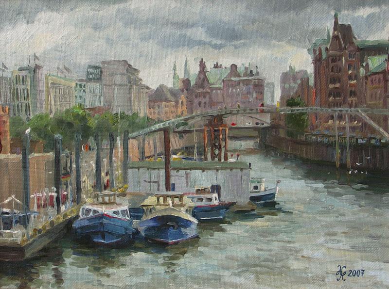 Gamburg-port